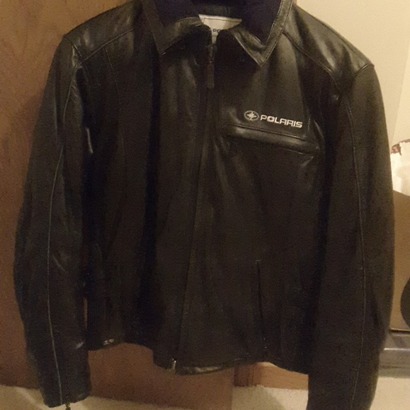 Polaris Jackets Amp Coats Leather Jacket Poshmark